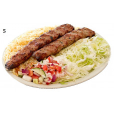 TWO SKEWERS OF BEEF KUFTA